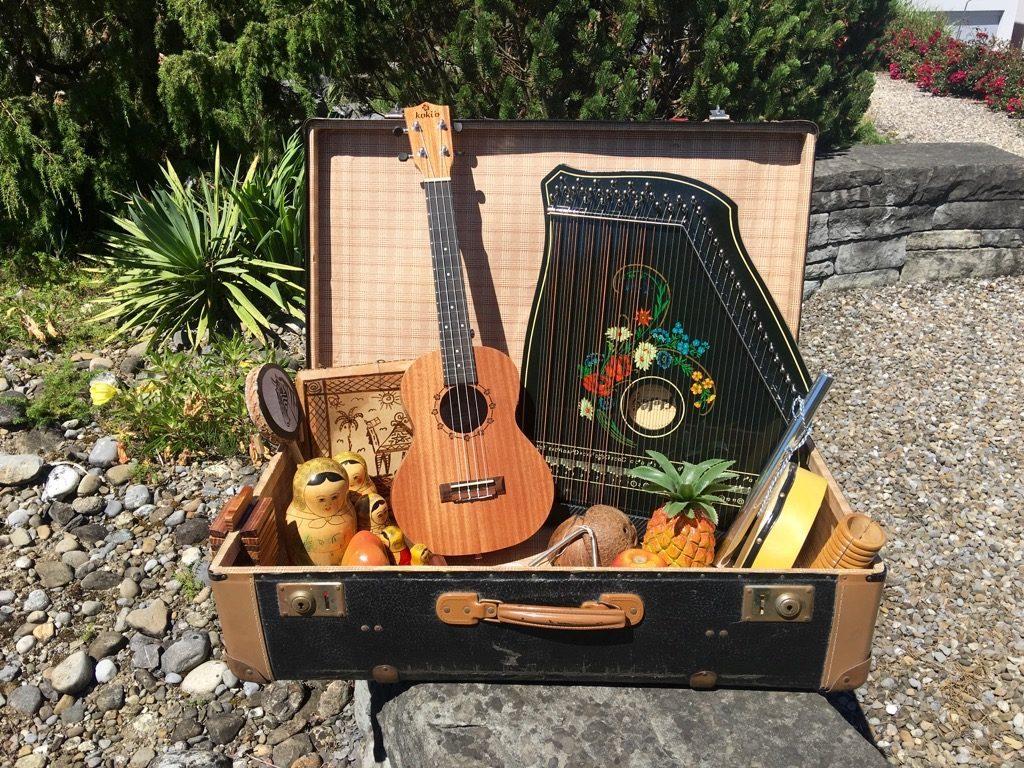 Musik aus dem Koffer